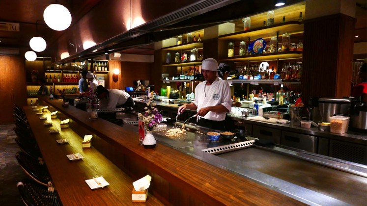 Although Fujin is recognized for its teppanyaki, the establishment actually brings Japanese drinking culture to the capital.