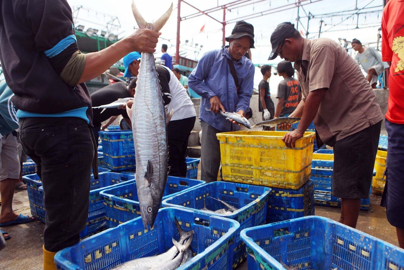 Indonesia invites Japanese firms to invest in fish shipment