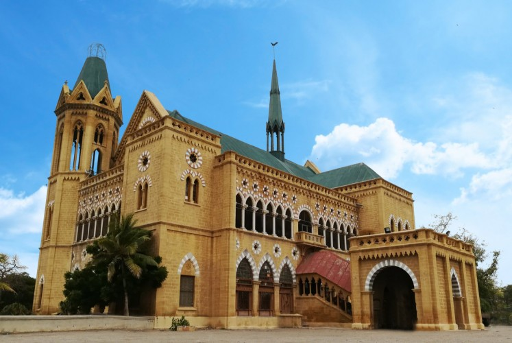 Frere Hall in Karachi, Pakistan, is considered one of the most iconic landmarks. The building dates from the early British colonial-era in Sindh.