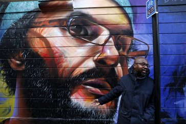 Big, bold and bright: London muralist fetes immigration