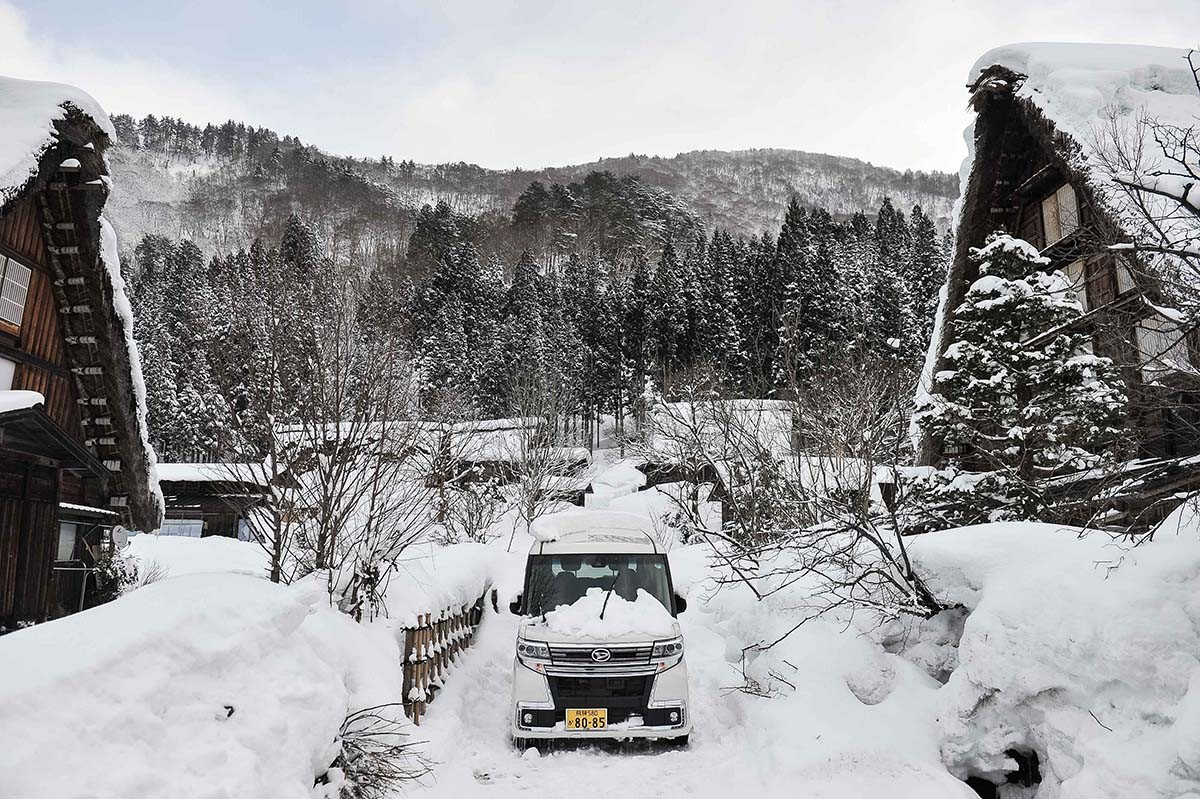 Shirakawa-gō, where prayer meets architecture
