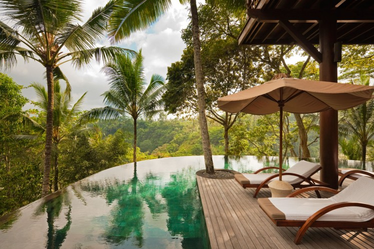 Tucked away among the tall trees of Ubud's jungle, a 90-minute drive north of Ngurah Rai International Airport, sits the COMO Shambhala Estate, a unique accommodation in Bali that offers wellness packages to guests seeking to relax while also making the most of the surrounding nature.