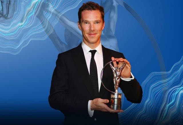 Cumberbatch returns as Laureus host