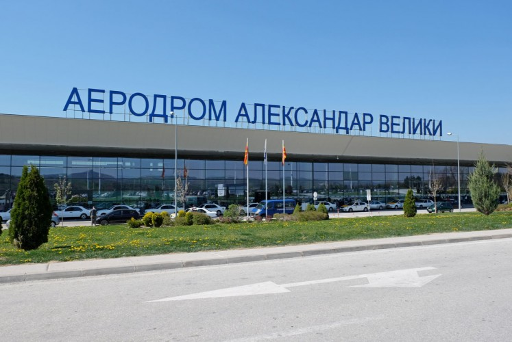 Macedonia to rename airport in step to end name row with