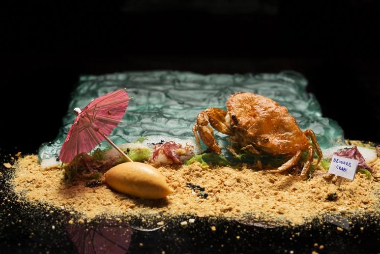 Chili Crab at Labyrinth
