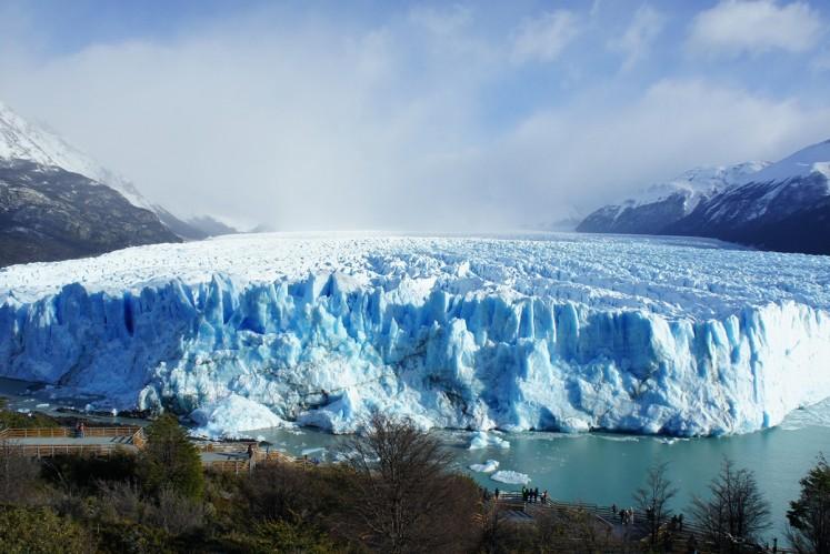 The glacier at Calafate