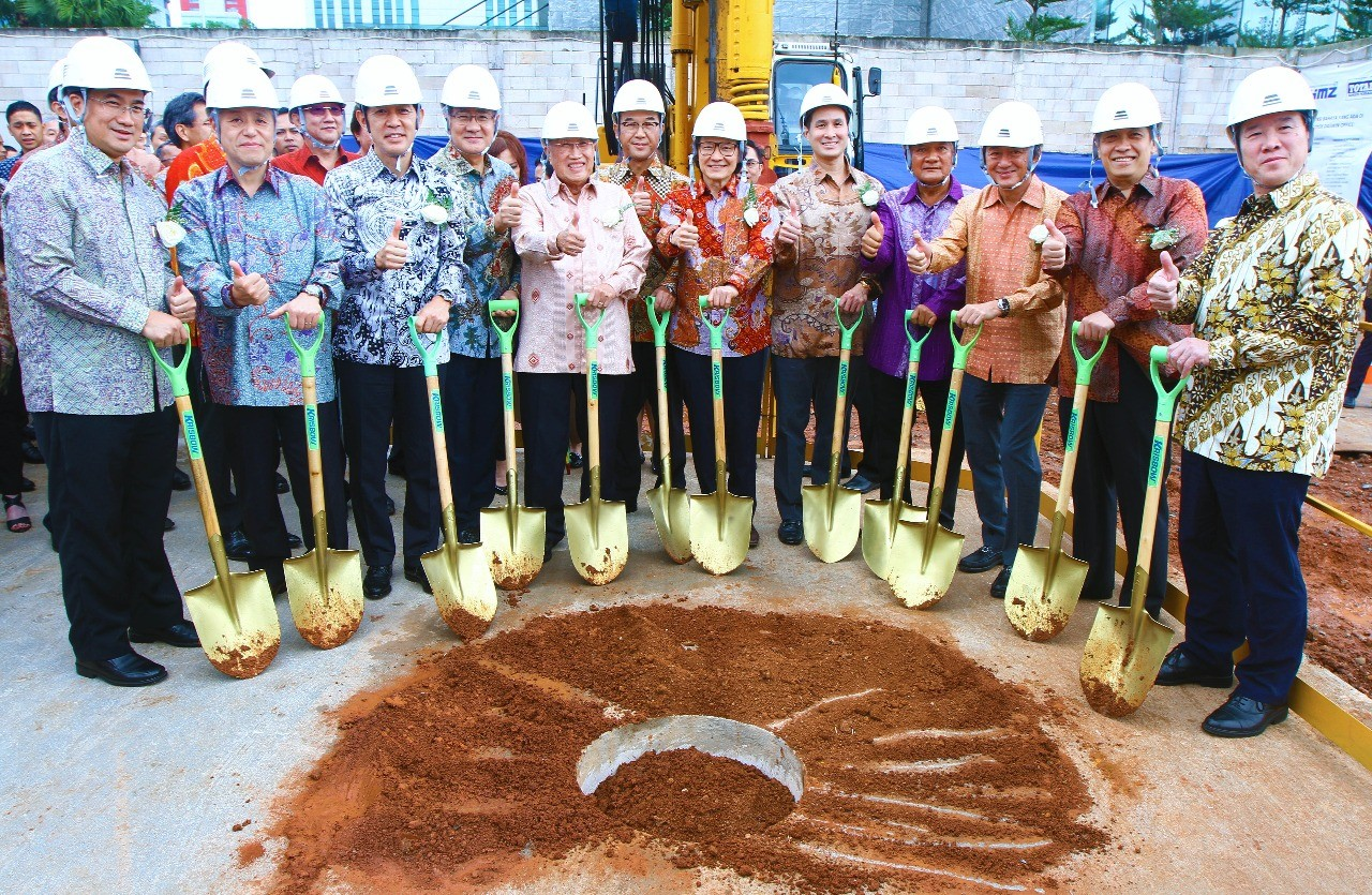 Daswin development project in Central Jakarta kicks off construction