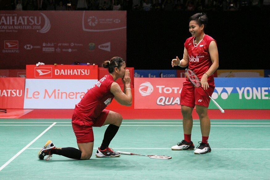 Host shuttlers stay focused to win Indonesia Masters