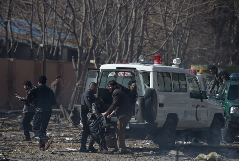 Growing anger after Kabul ambulance bomb kills nearly 100