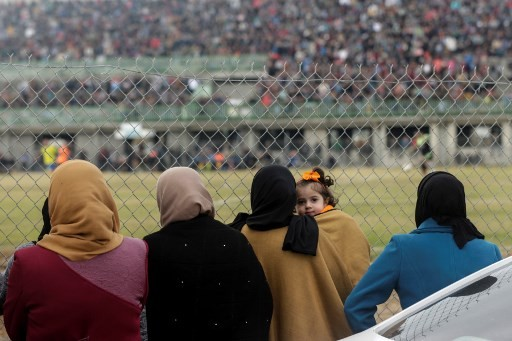 Gaza police block women from attending football match