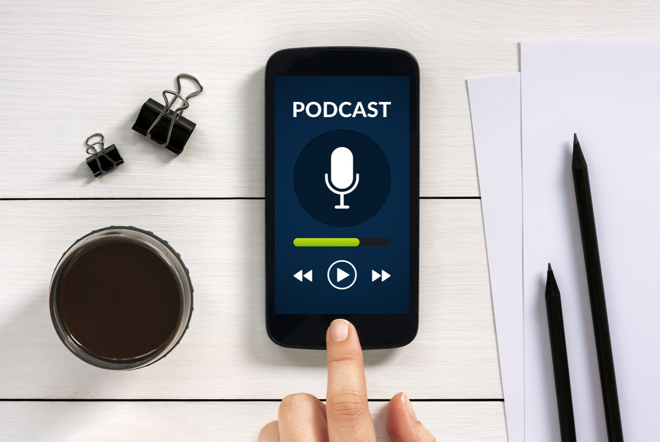 Five recommended podcasts for 'beginners'