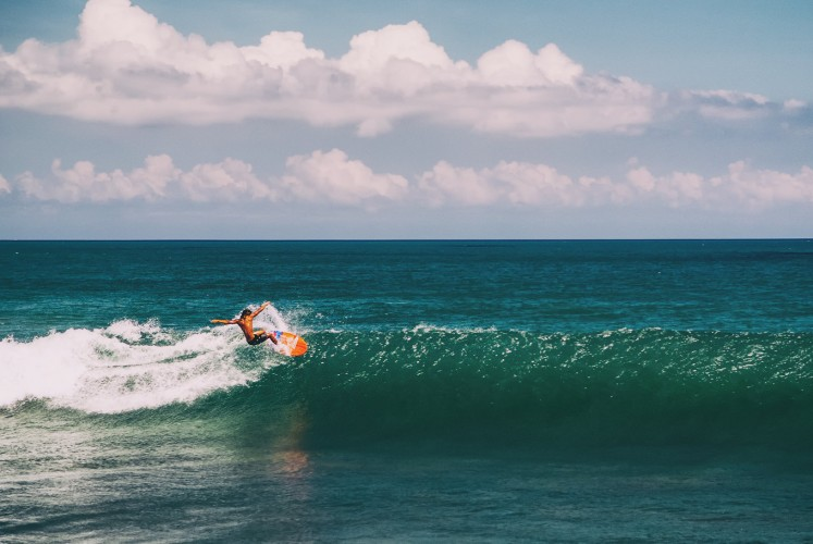 Canggu is renowned among surfers for its waves.