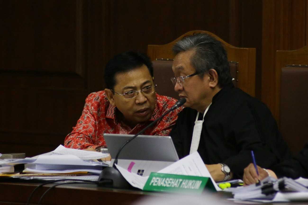 Former minister to testify at Setya's e-ID hearing