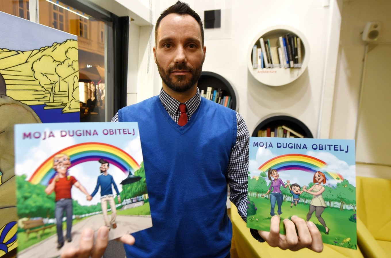 Rewriting norms in Croatia with children's same-sex family book