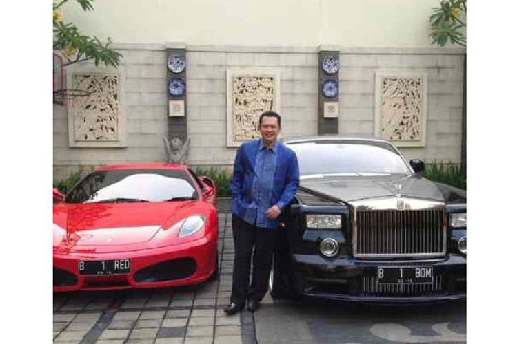 ID card owner denies owning controversial Ferrari car