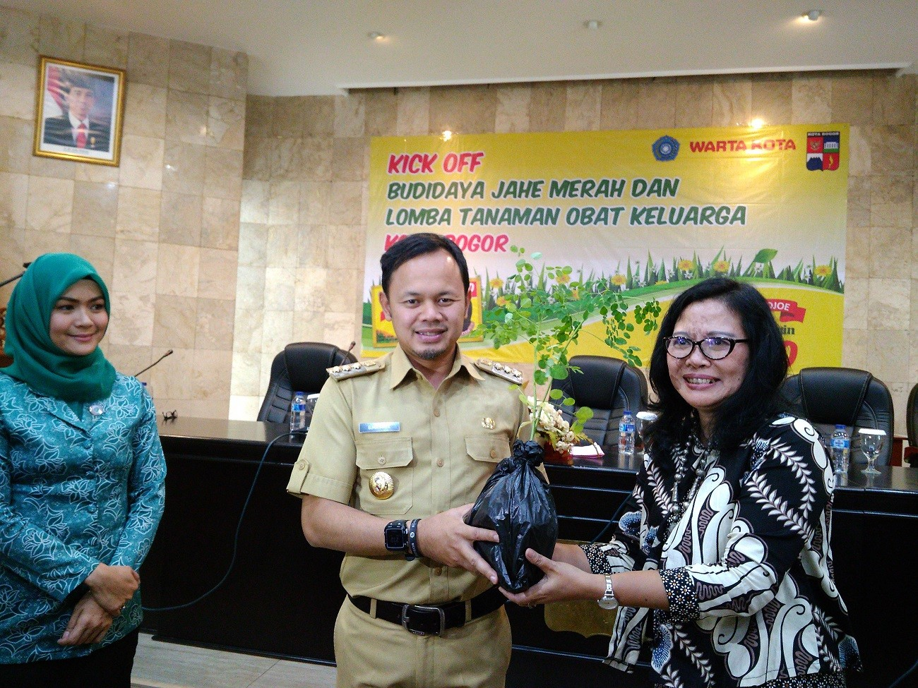 Bogor residents asked to cultivate six medicinal plants