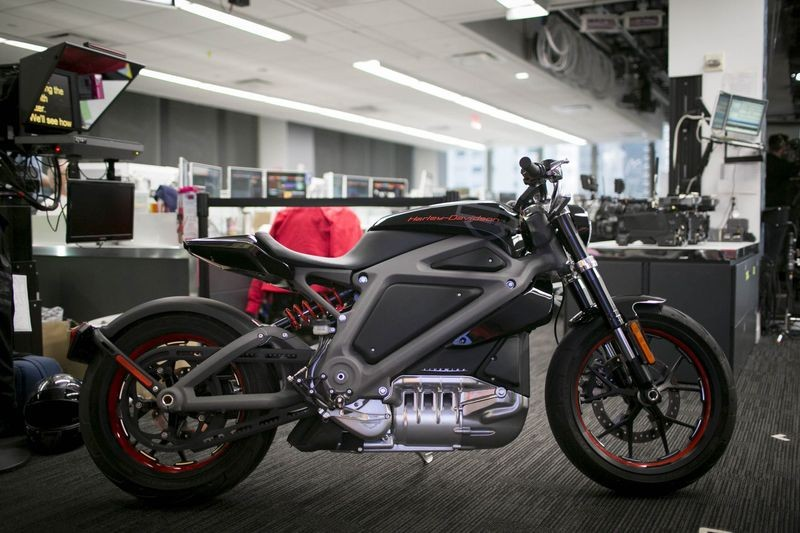 Harley Davidson Is Making An Electric Motorcycle
