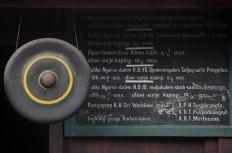 Information in Javanese is available in the locker room. JP/Boy T. Harjanto