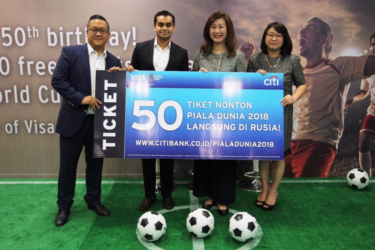 Citi to fly prize winners to World Cup venues