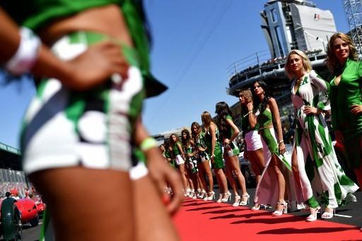 Formula One abolishes 'grid girls'