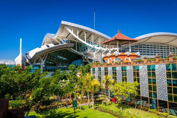 Ngurah Rai International Airport is the hub for all flights to Denpasar, Bali.