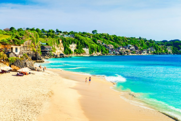 Bali's white sandy beaches are the top attraction on the resort island.