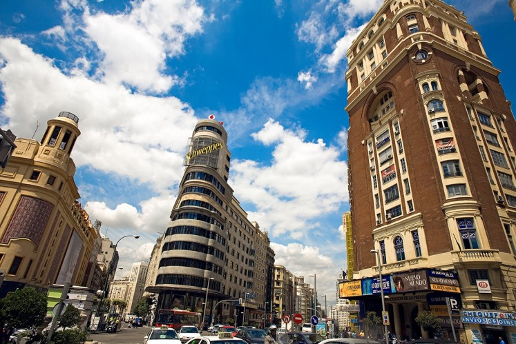 Madrid's Gran Via