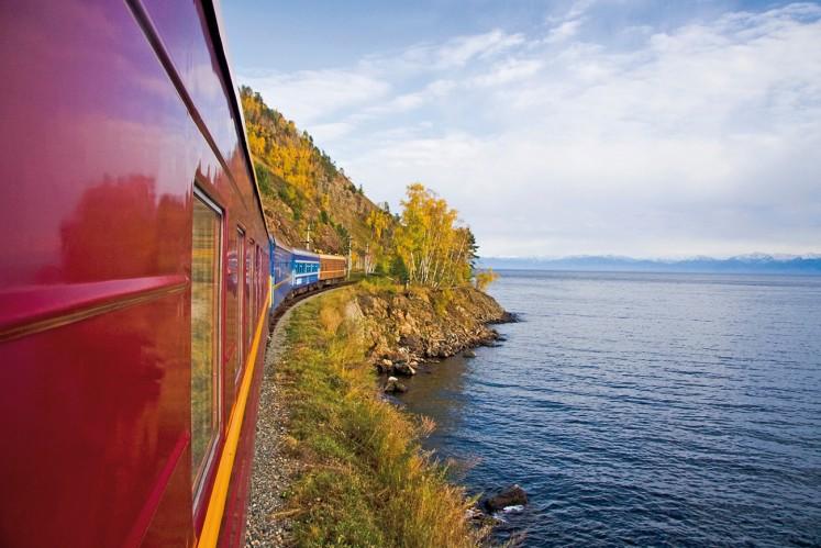Lake Baikal, from the Trans-Siberia Express
