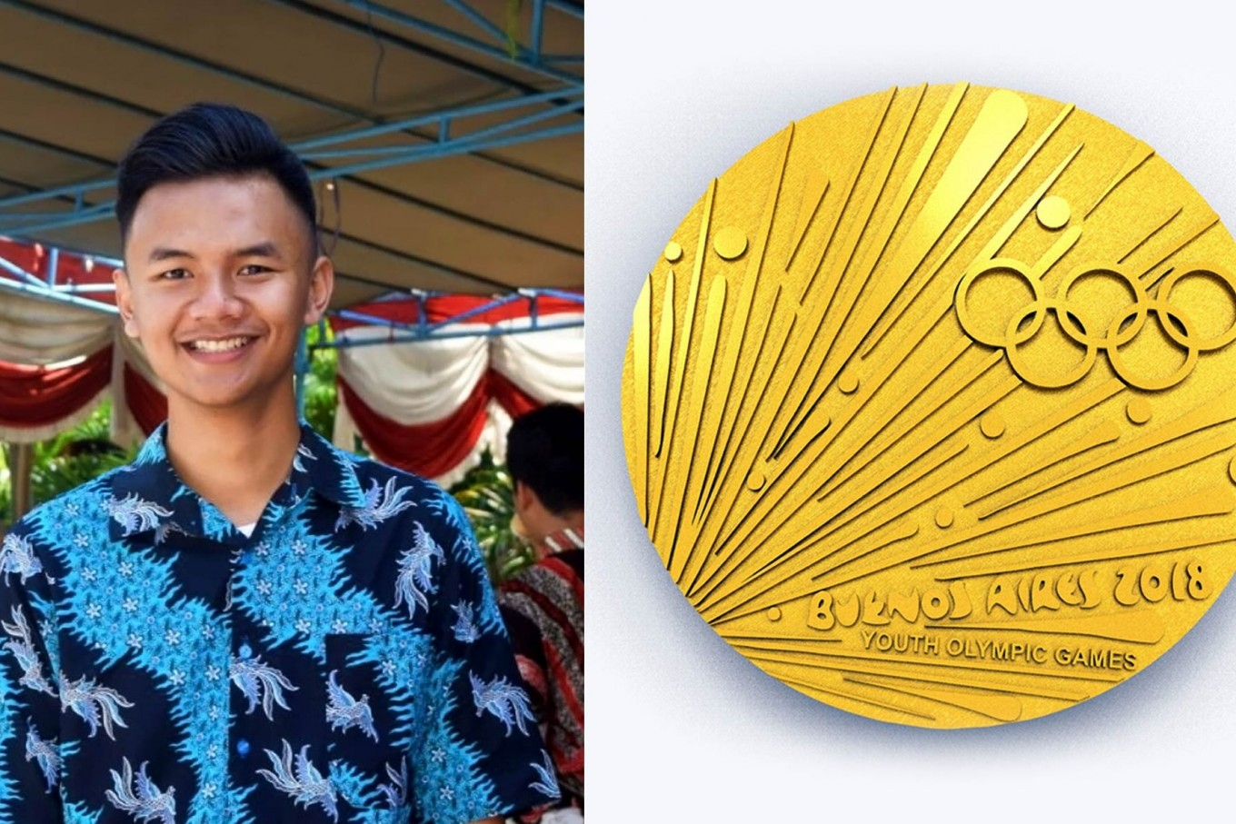 Indonesian student wins Youth Olympic Games design competition