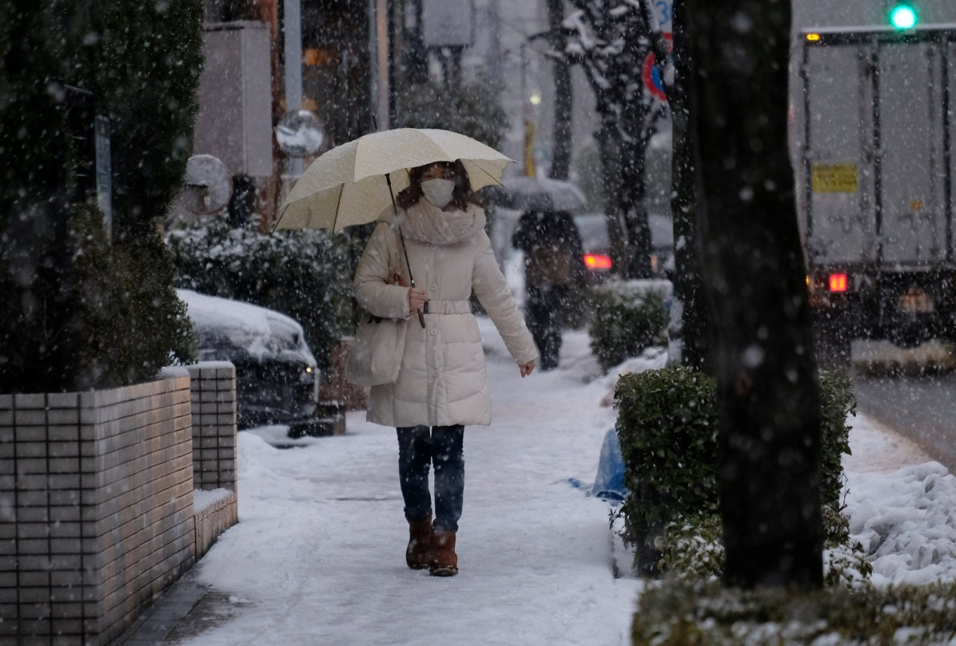 Japan economy grows for 8th straight quarter, longest since 1980s