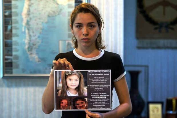 Argentina searches for kidnap victim