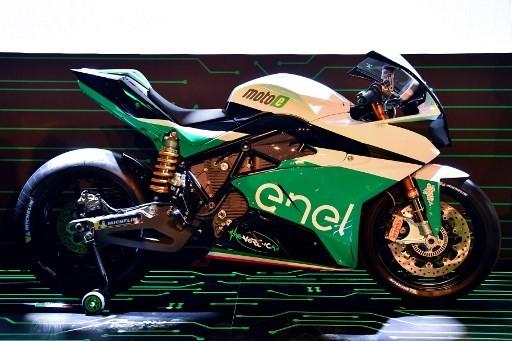 MotoGP unveils MotoE electric bike series from 2019