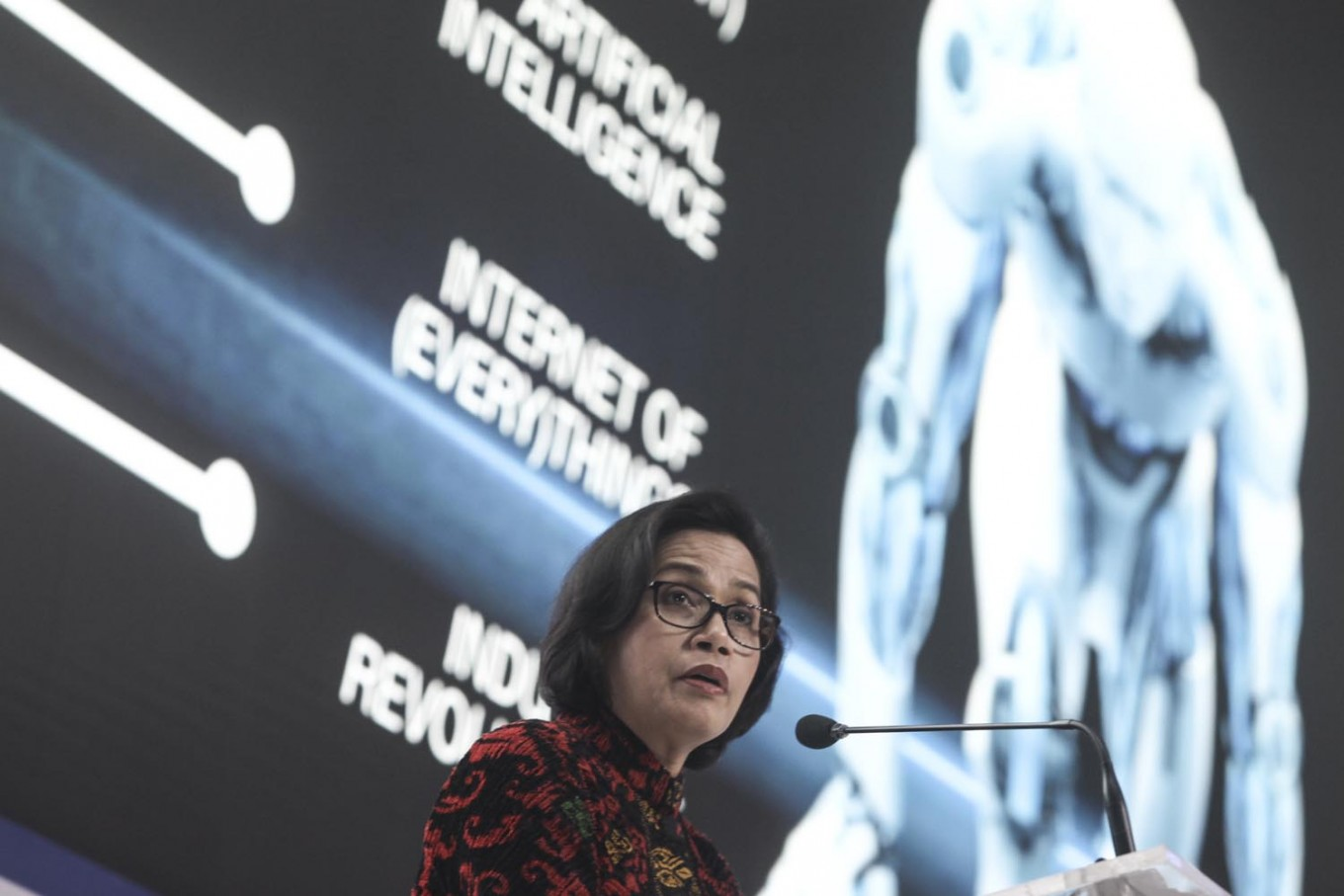 Minister Sri Mulyani woos investors to bring in FDI to Indonesia