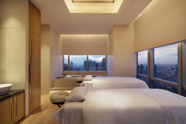 Heavenly Spa at The Westin Jakarta in South Jakarta.