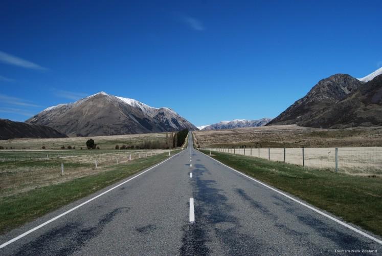 Arthur's Pass in New Zealand