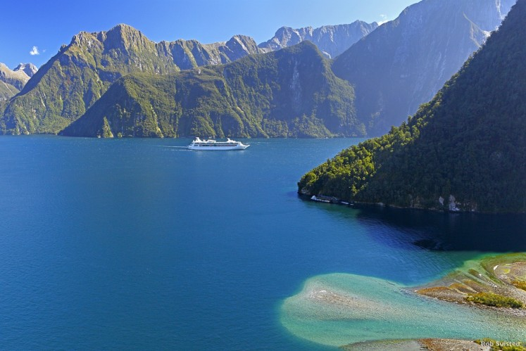 Milford Sound is bedazzling