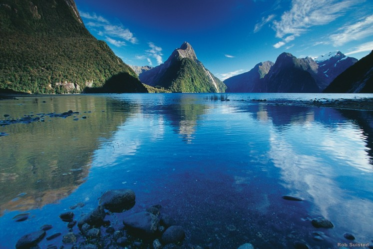 A stunning view of Milford Sound