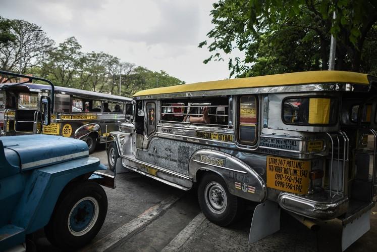 One of Manila's ubiquitous jeepneys