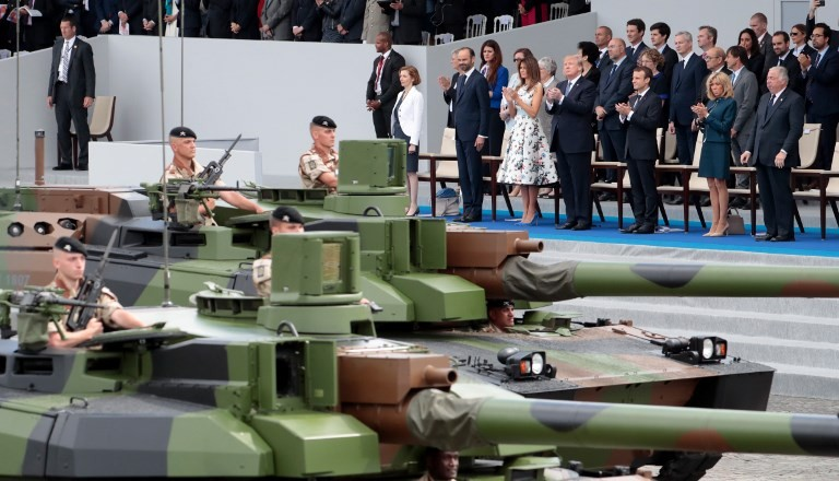 Planning under way for Trump's military parade