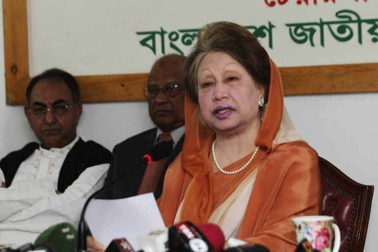 Bangladesh court jails opposition leader Zia for five years