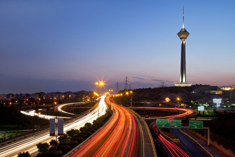 The Milad Tower, the sixth-tallest tower in the world, could easily be seen as an Iranian attempt to show the world that it is standing tall amid global pressure.