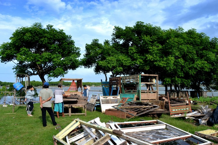 A humble yet picturesque showcase of antiques in Sumenep, Madura.