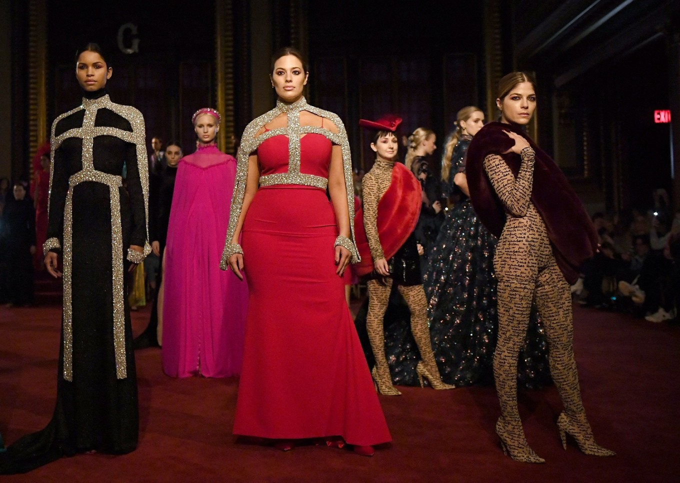 Siriano champions 10 years of diversity on NY runway