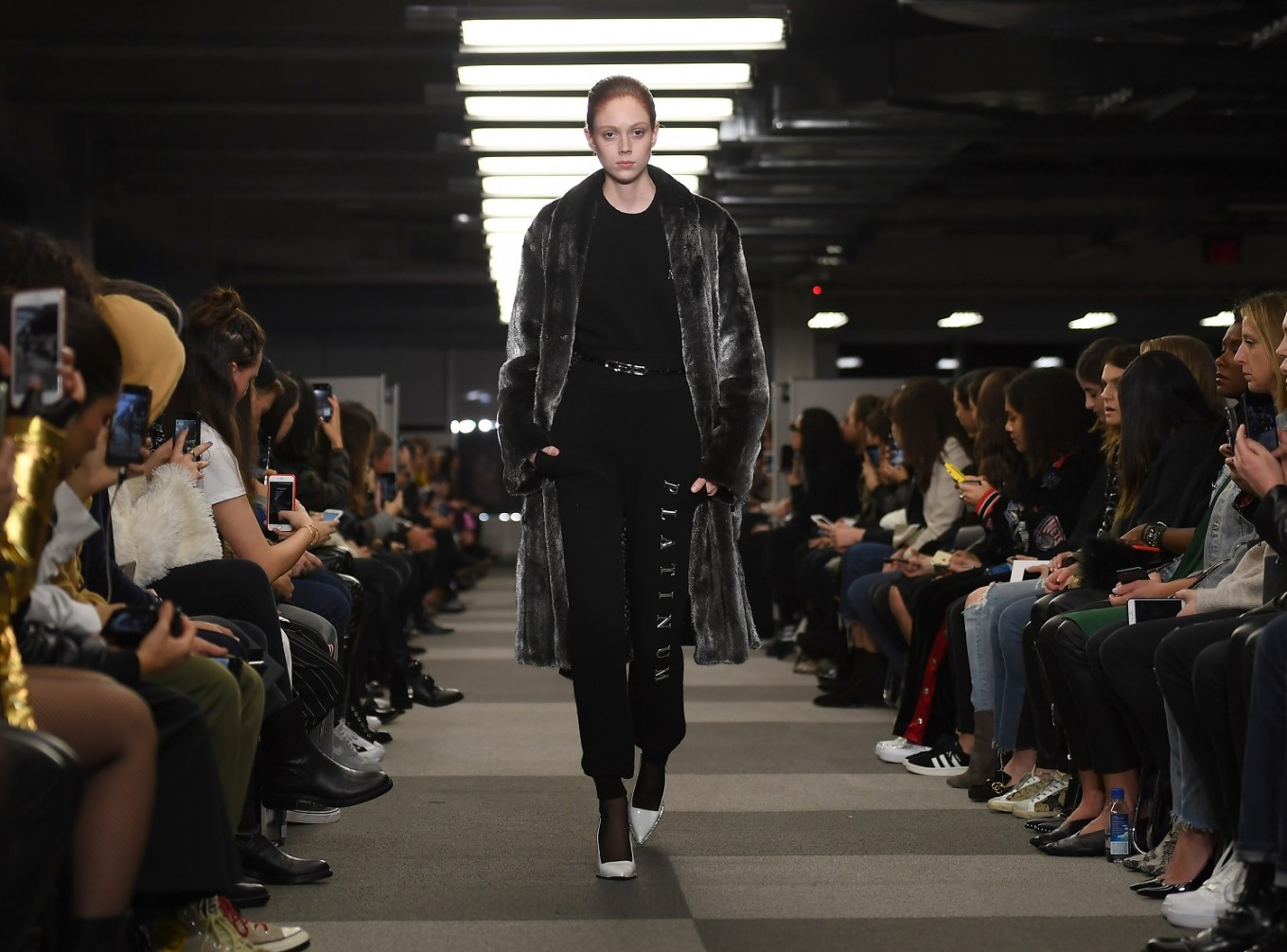 Wang in the office, Plein in outer space at NY Fashion Week