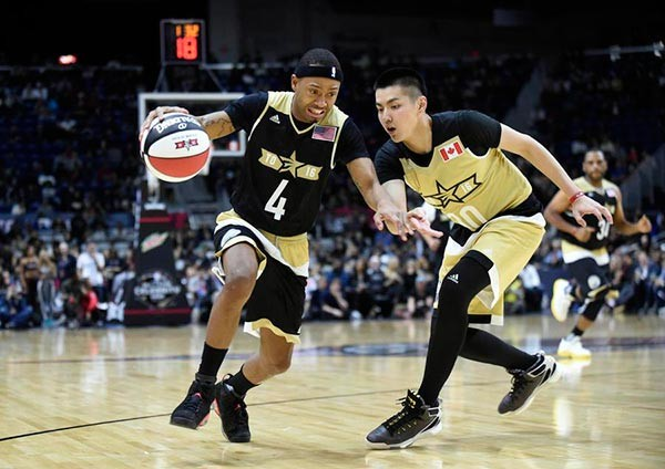 Wu's fans skip Chinese New Year for NBA All Star celebrity game