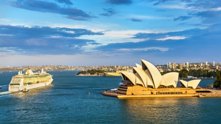 The Sydney Opera House is one of Australia's most famous landmarks.