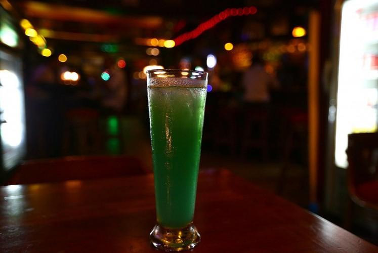 Brainwash, one of the signature drinks at De Hooi.
