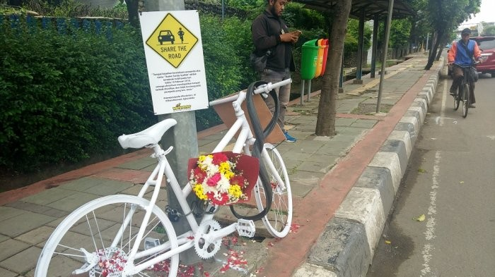 Bicycle community gives reminder of need to share road with cyclists