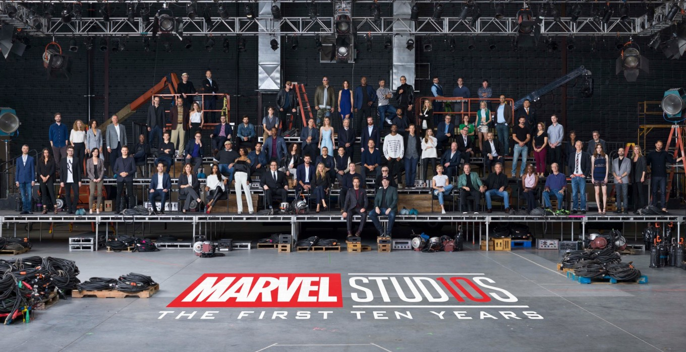 Marvel Cinematic Universe Assembles For 10th Year
