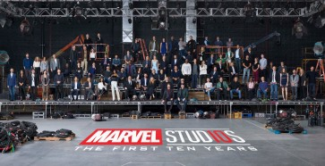 Marvel Cinematic Universe assembles for 10th year anniversary photo